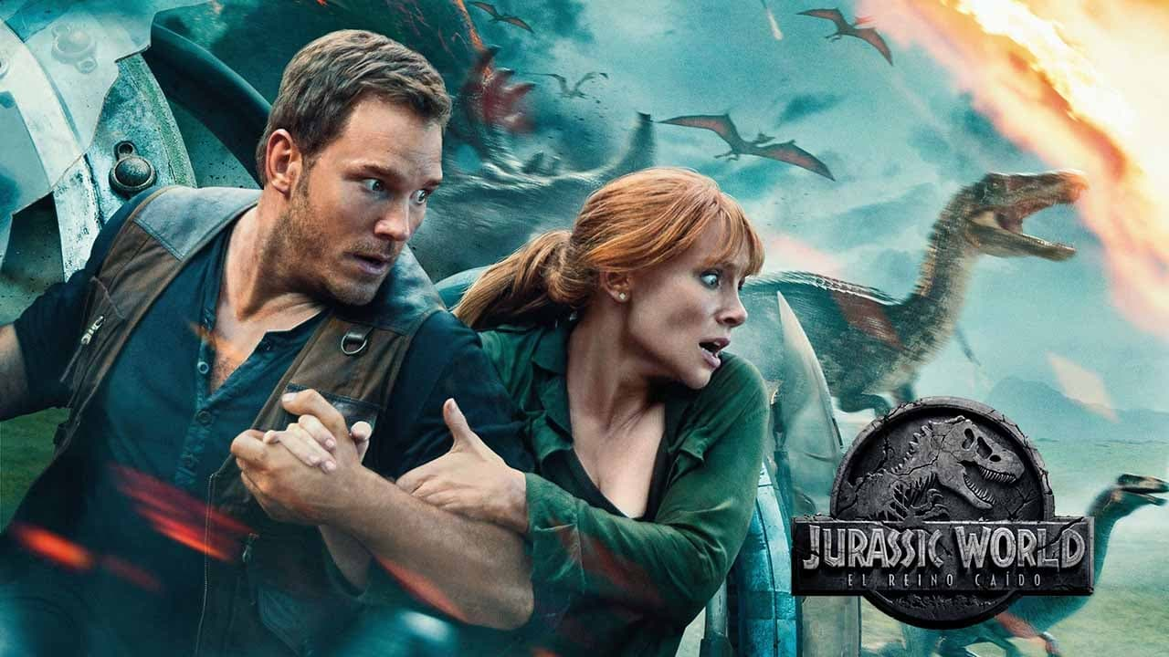 Jurassic World: Fallen Kingdom backdrop
