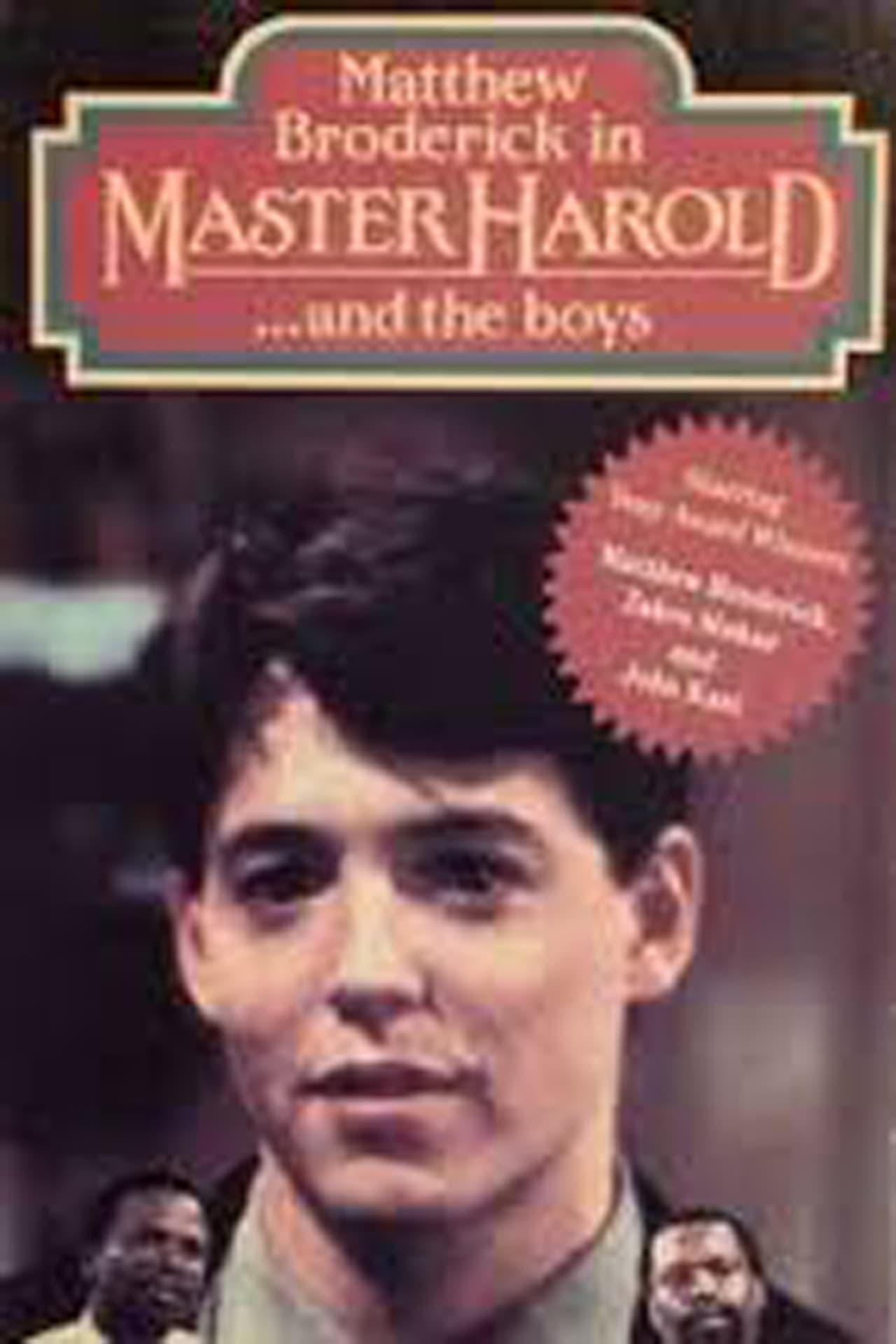 master harold and the boys critical Well, master haroldand the boys is a play soit belongs in the drama category got it good but don't quit reading yet we can give that genre a little flair and call it a coming-of-age dra.