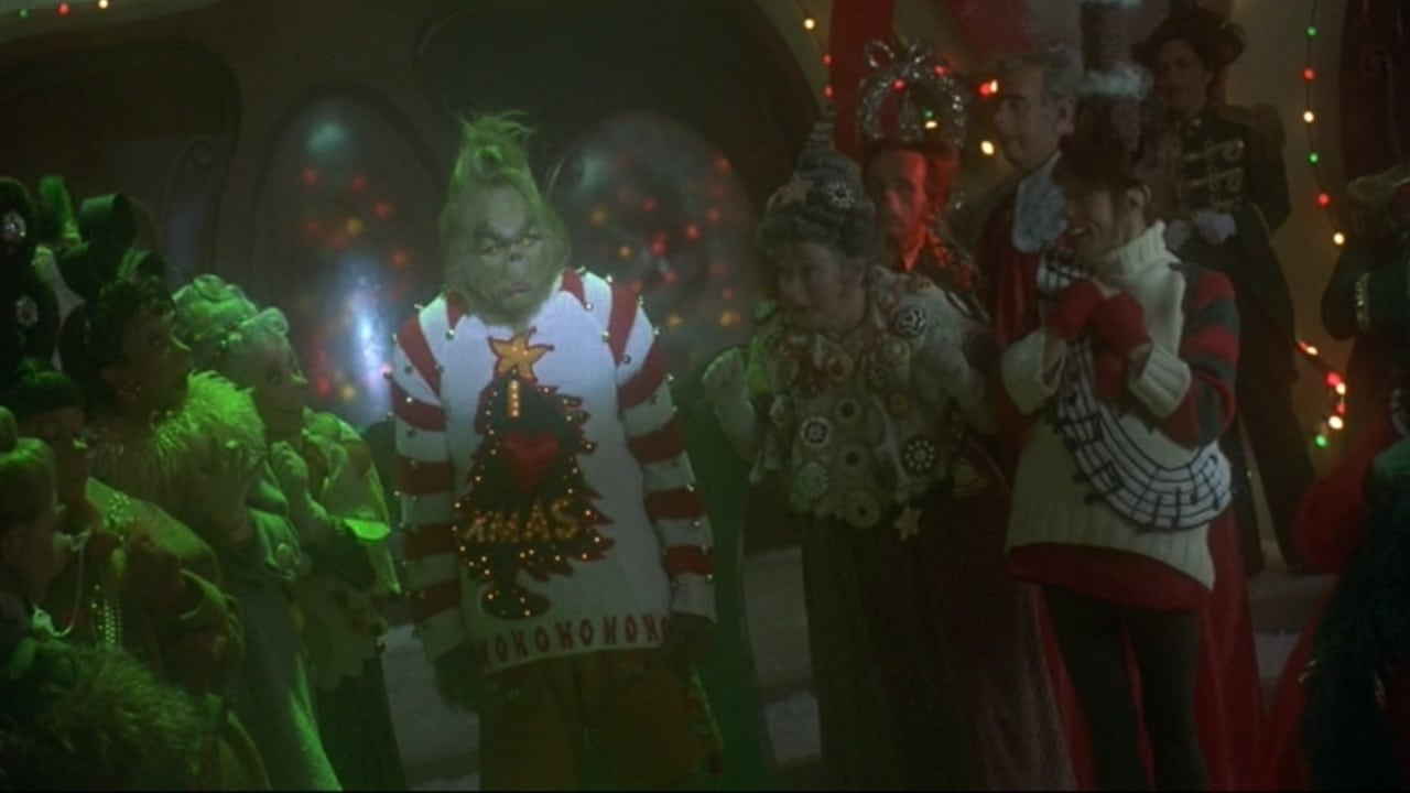 How the Grinch Stole Christmas backdrop