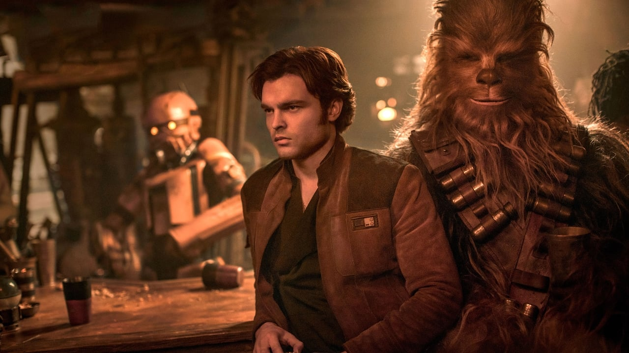 Solo: A Star Wars Story backdrop