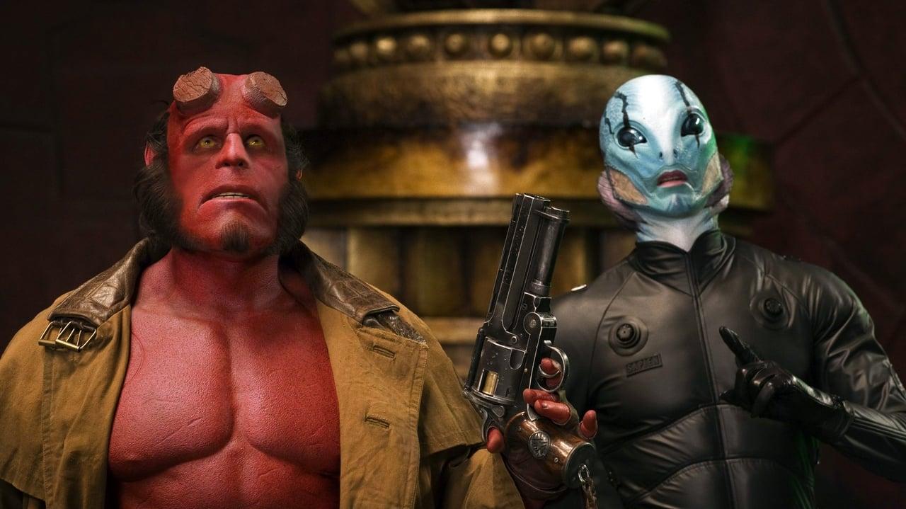 Hellboy II: The Golden Army backdrop