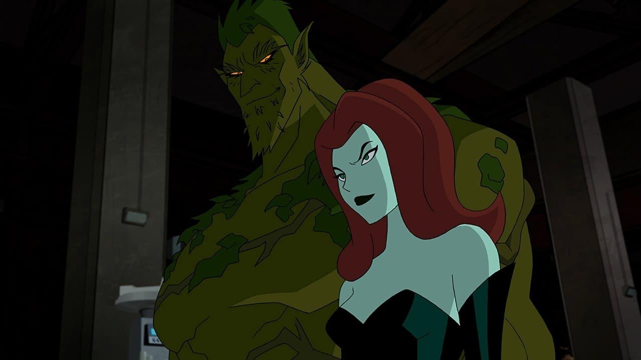 Batman and Harley Quinn backdrop