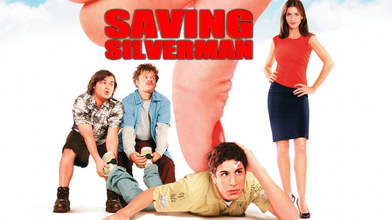 Saving Silverman backdrop