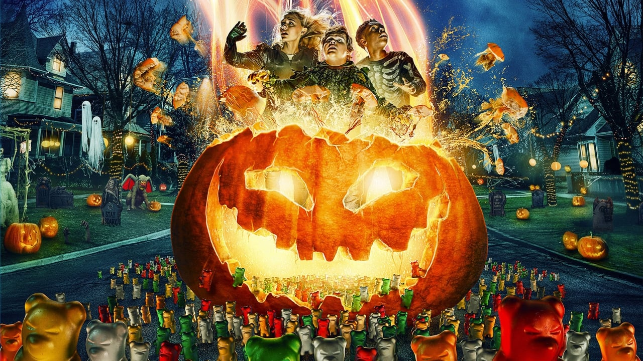 Goosebumps 2: Haunted Halloween backdrop