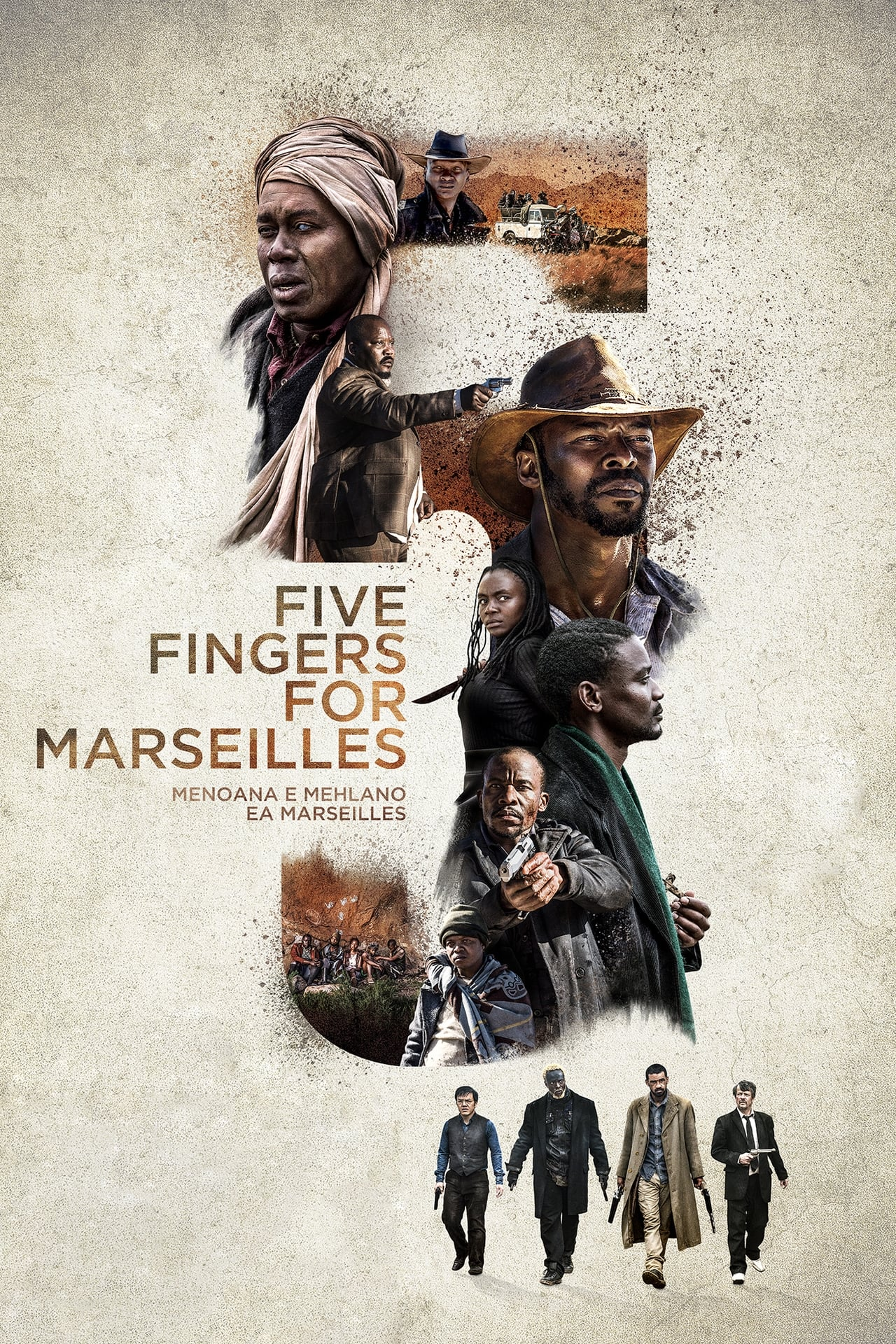 Putlocker Five Fingers For Marseilles (2018)