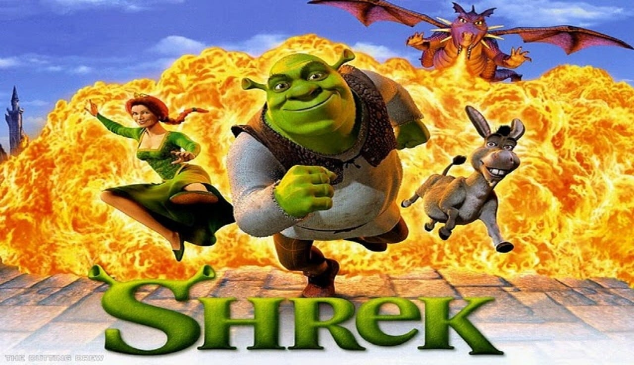 Shrek backdrop