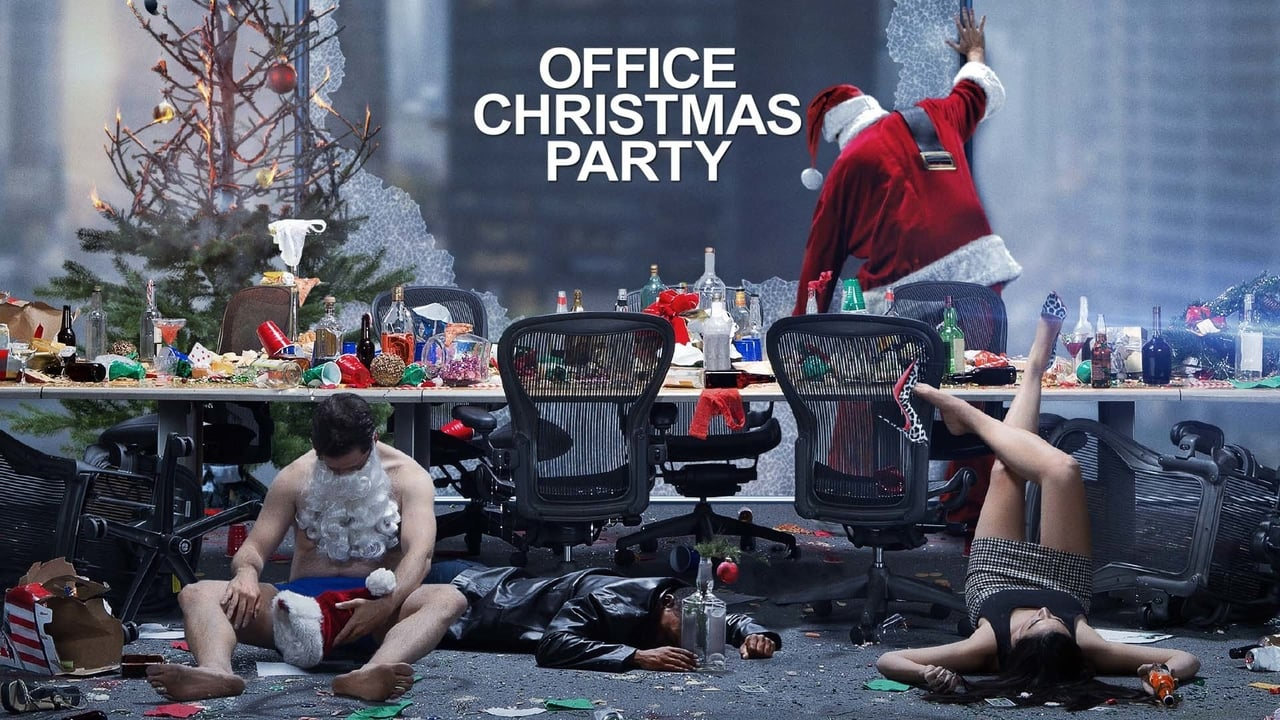 Office Christmas Party backdrop