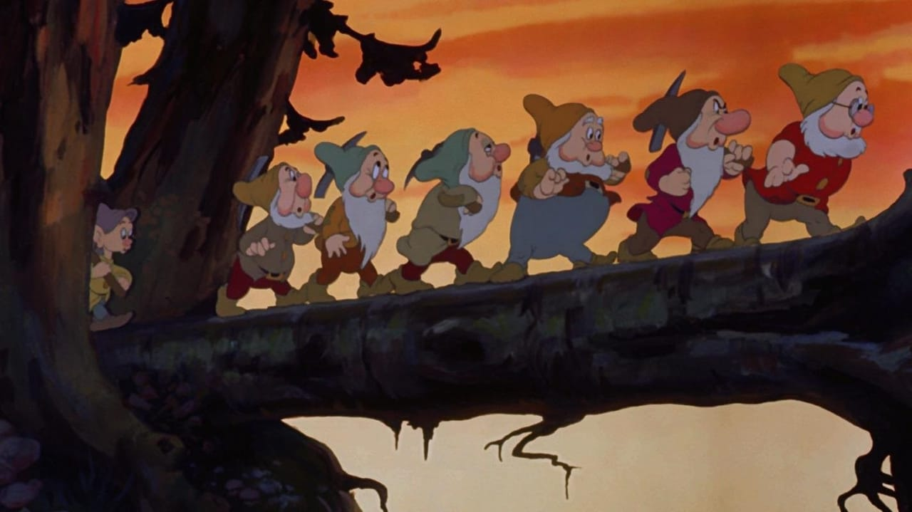 Snow White and the Seven Dwarfs backdrop