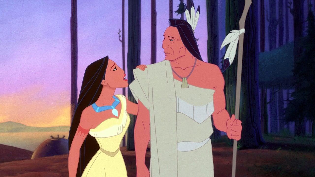 Pocahontas backdrop