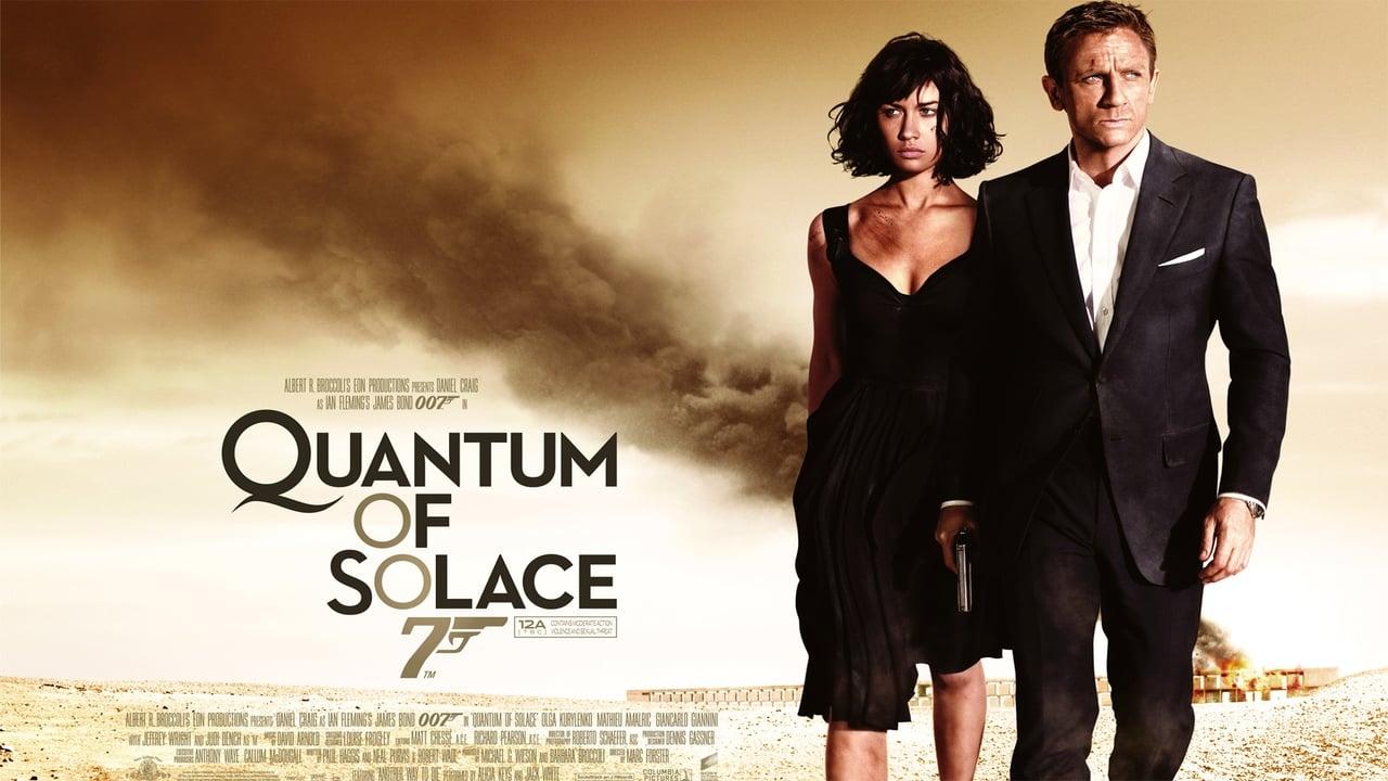 Quantum of Solace backdrop