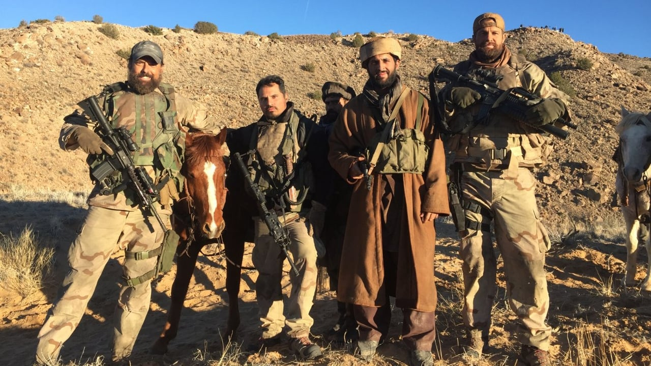 12 Strong backdrop