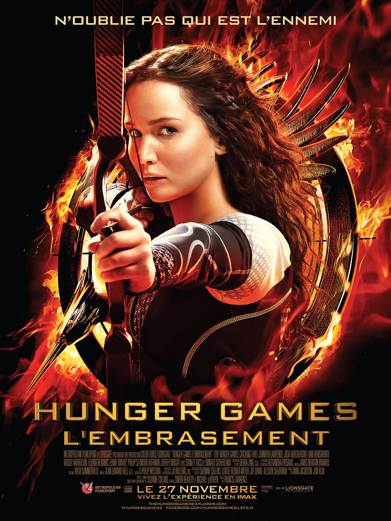Hunger Games : La Révolte, partie 2 streaming vf - 1mbed