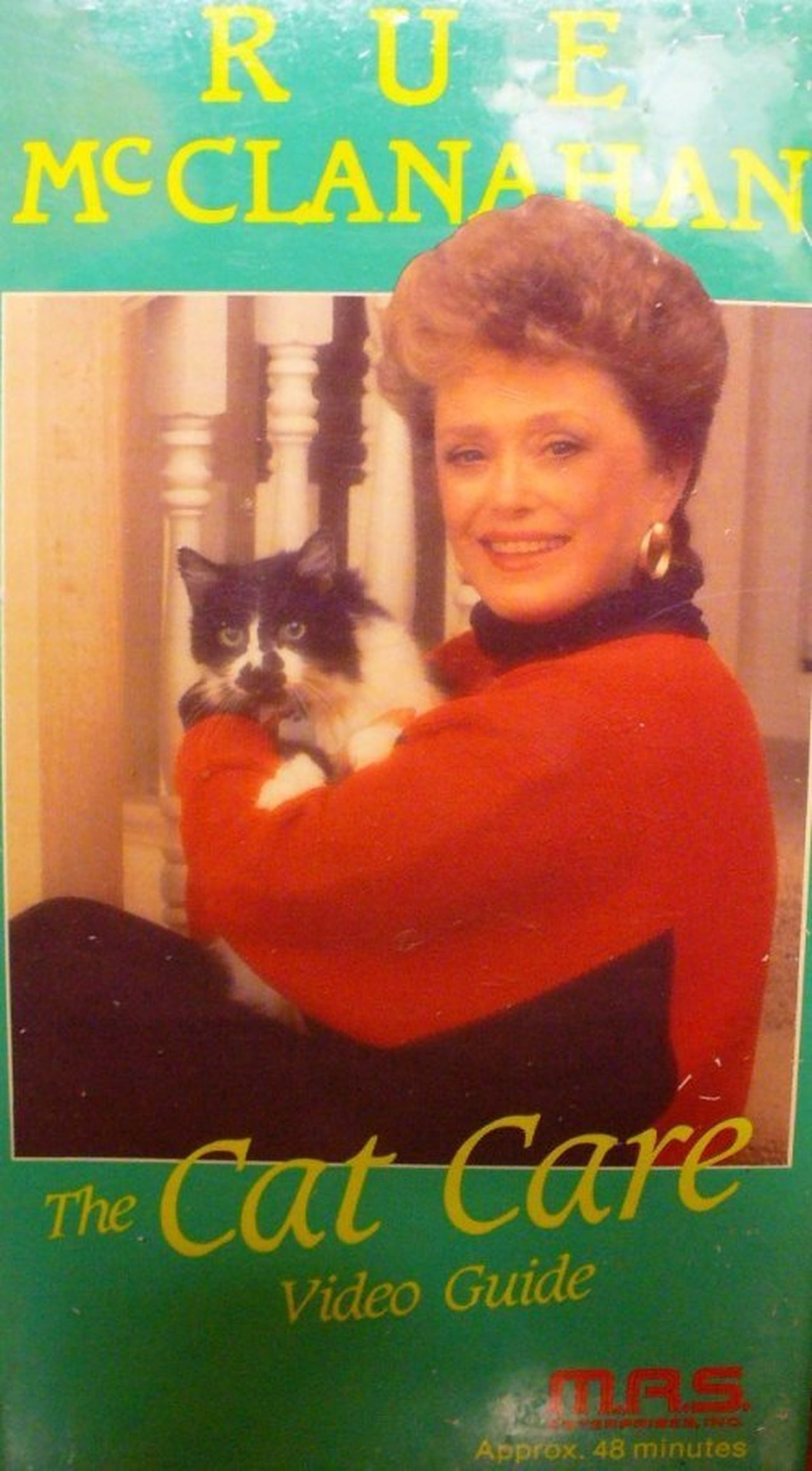 Rue McClanahan: The Cat Care Video Guide