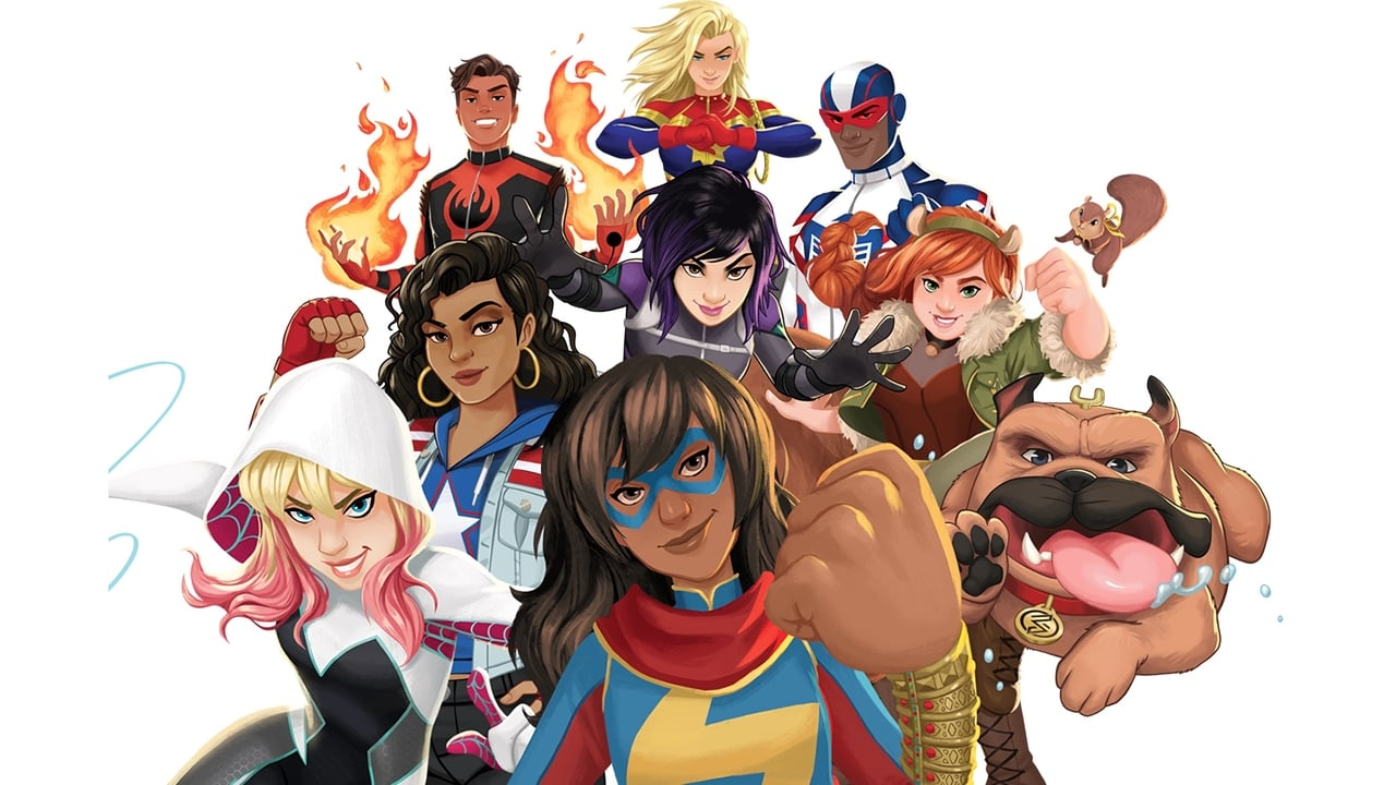 cover-Marvel Rising: Secret Warriors