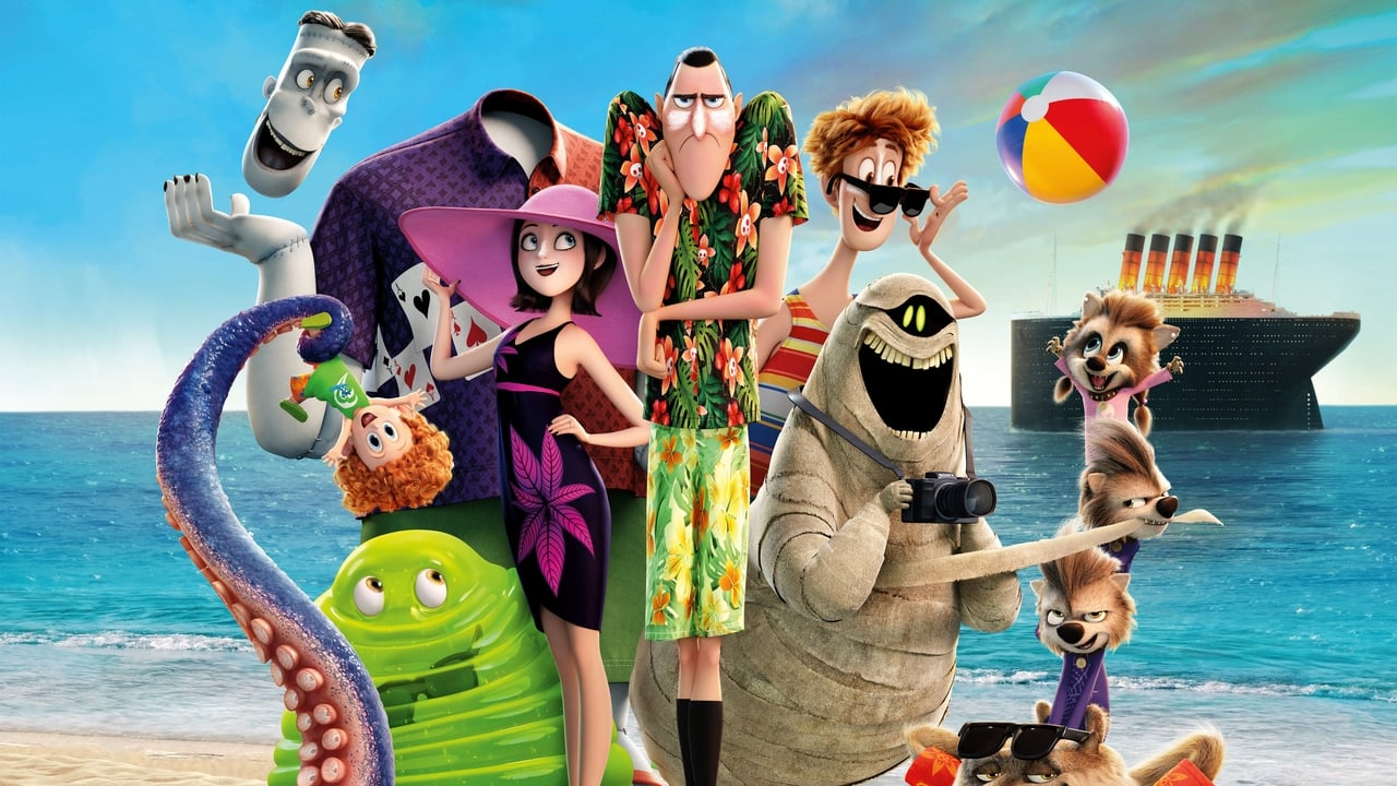 Hotel Transylvania 3: Summer Vacation BackDrop