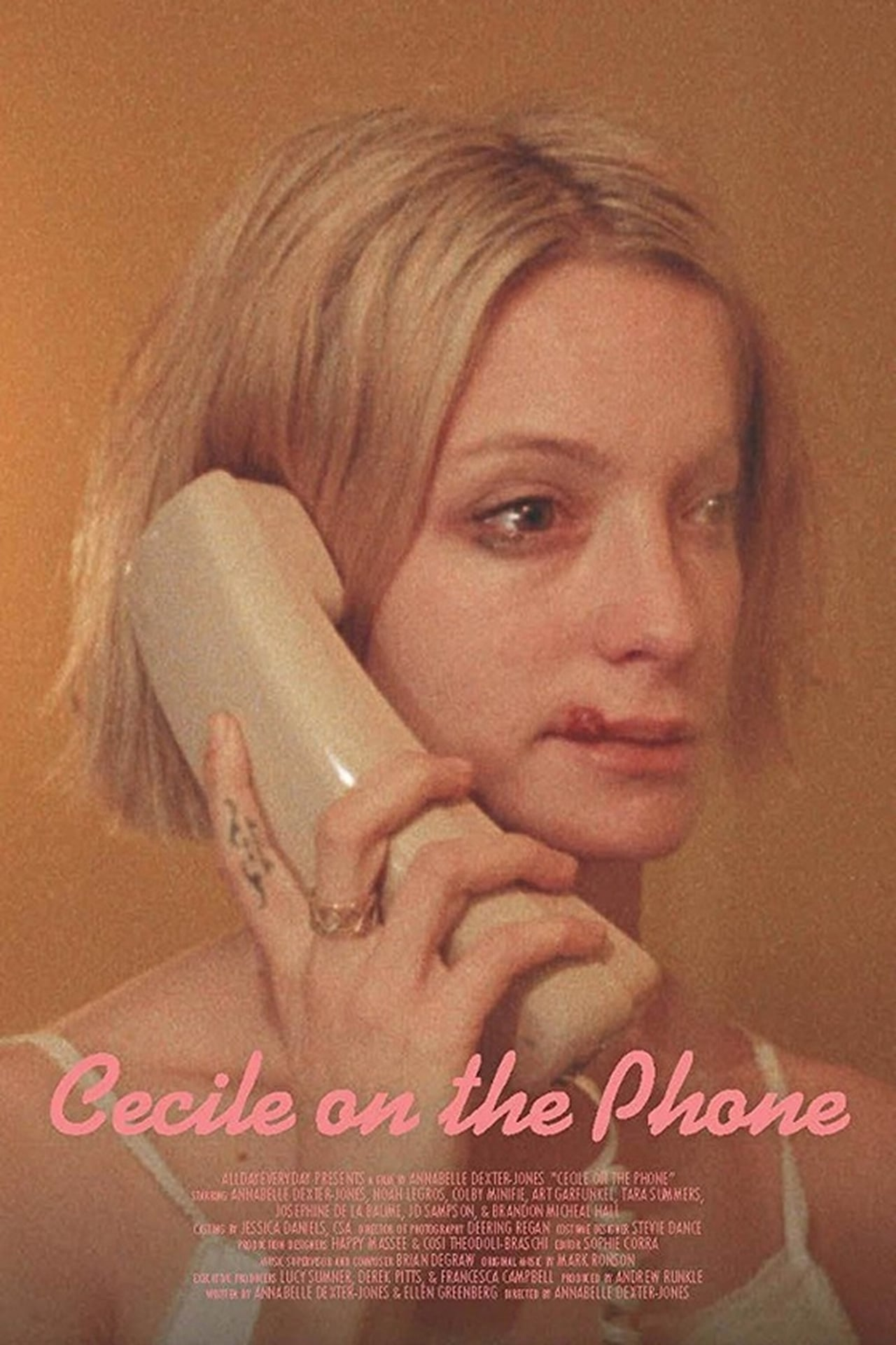 Cecile on the Phone