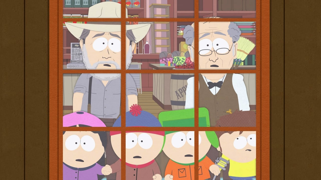 Old fashioned south park 90
