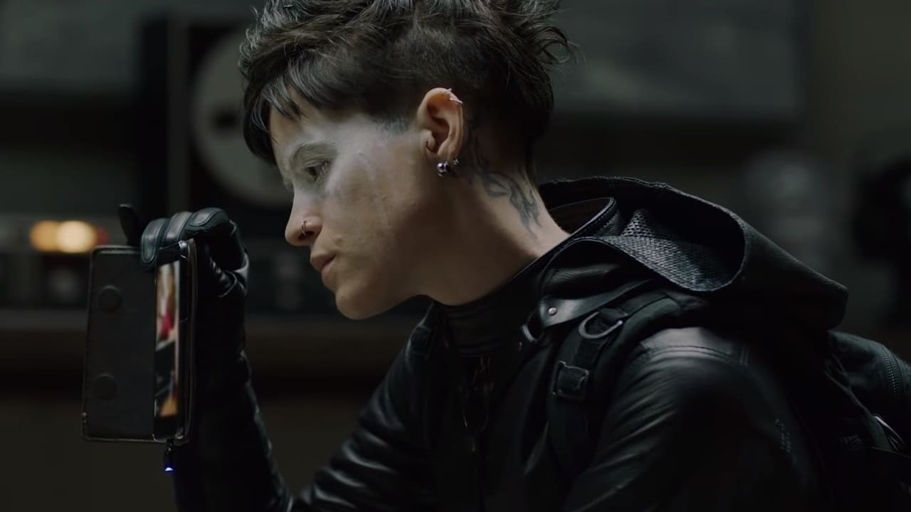 The Girl in the Spider's Web backdrop