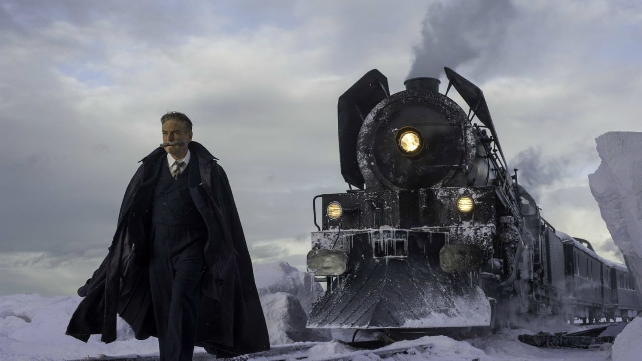 Murder on the Orient Express backdrop