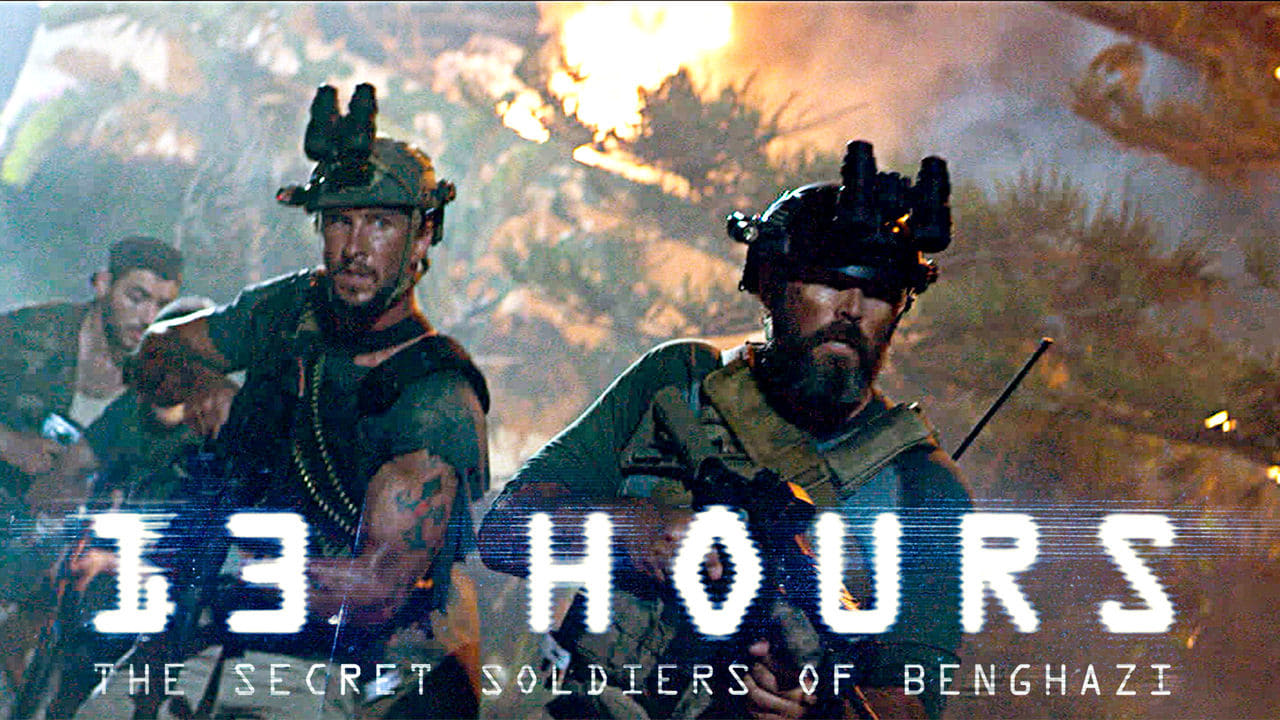 13 Hours: The Secret Soldiers of Benghazi backdrop