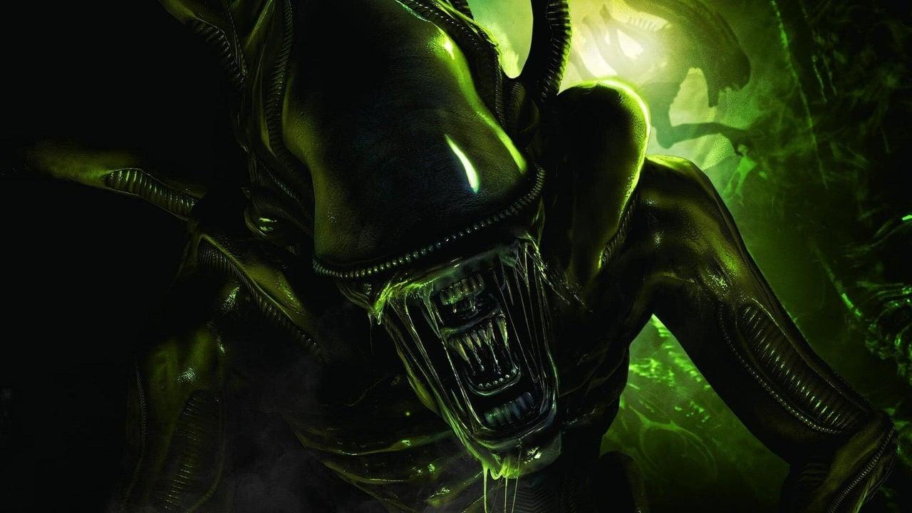 Aliens backdrop