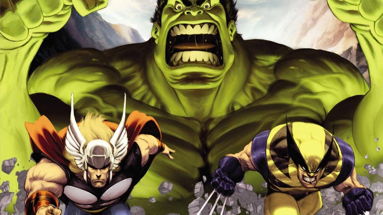 Hulk Vs. backdrop