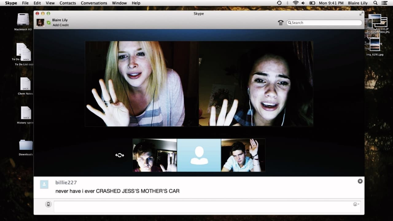 Unfriended backdrop
