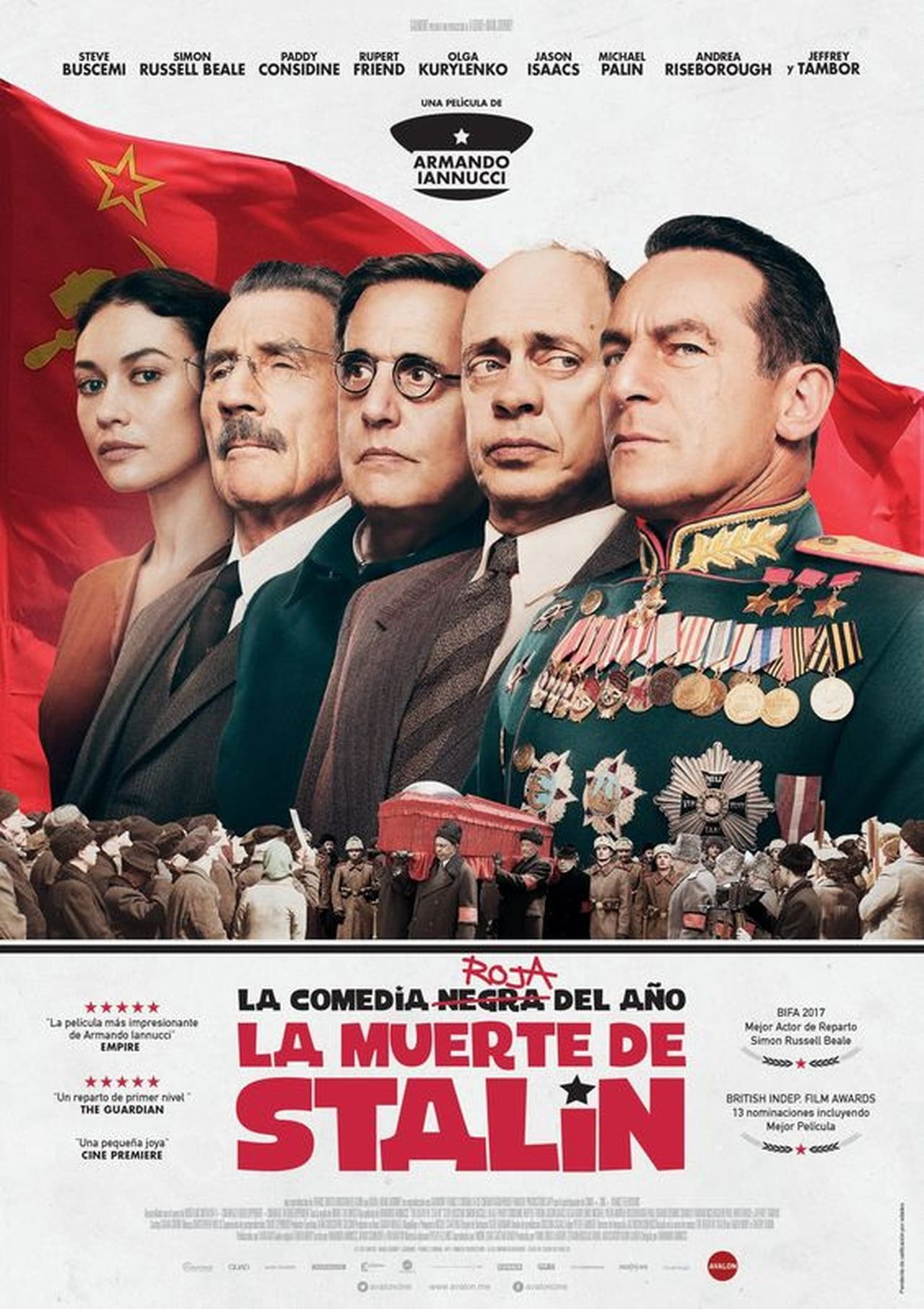 La muerte de Stalin (The Death of Stalin) ()