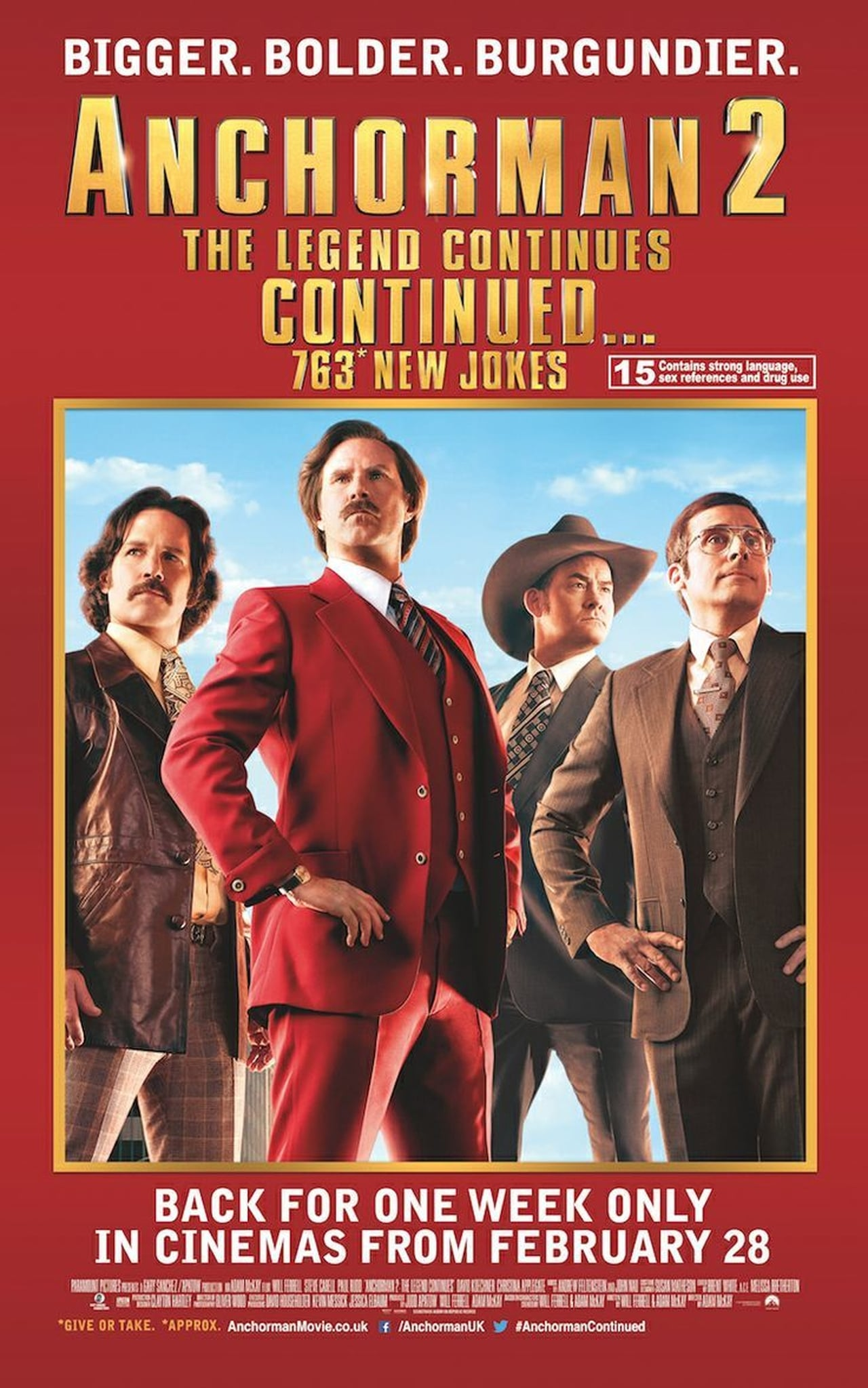 Anchorman 2: The Legend Continues...Continued