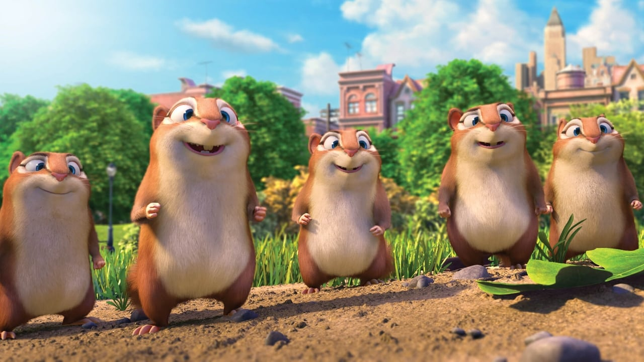 The Nut Job 2: Nutty by Nature backdrop