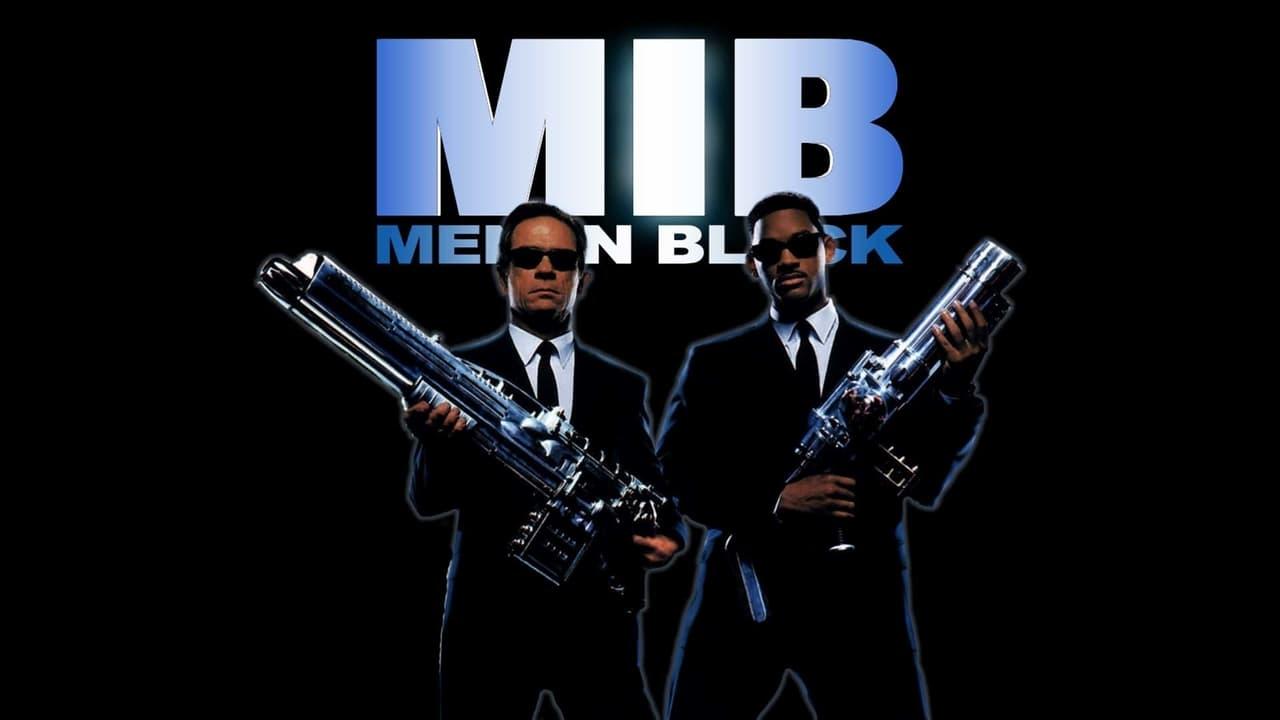 Men in Black backdrop