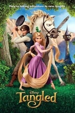 Tangled small poster