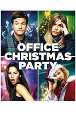 Office Christmas Party small poster