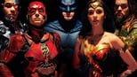 Justice League small backdrop