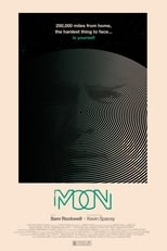 Moon small poster