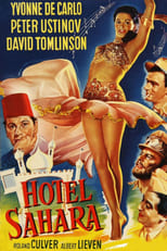 Hotel Sahara (1951) Box Art