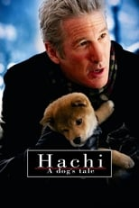 Hachi: A Dog's Tale small poster