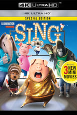 Sing small poster