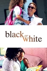 Black or White small poster