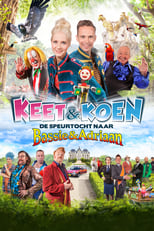 Poster van Keet & Koen en de speurtocht naar Bassie & Adriaan