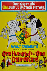 One Hundred and One Dalmatians small poster