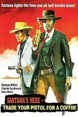 Sartana's Here... Trade Your Pistol For A Coffin (1970) Box Art