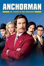 Anchorman: The Legend of Ron Burgundy - one of our movie recommendations