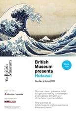 Poster for British Museum presents: Hokusai