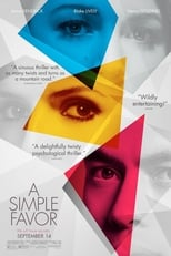 A Simple Favor small poster
