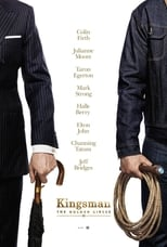 Kingsman: The Golden Circle small poster