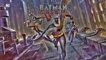 Batman and Harley Quinn small backdrop