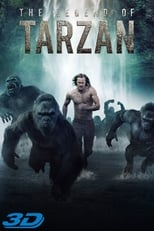 The Legend of Tarzan small poster