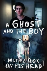 Poster for A Ghost and the Boy with a Box on His Head