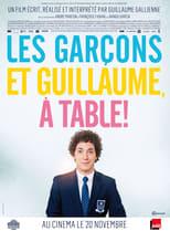 Les garçons et Guillaume, à table